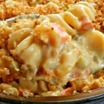 Cheesy Chicken or Turkey Noodle Casserole