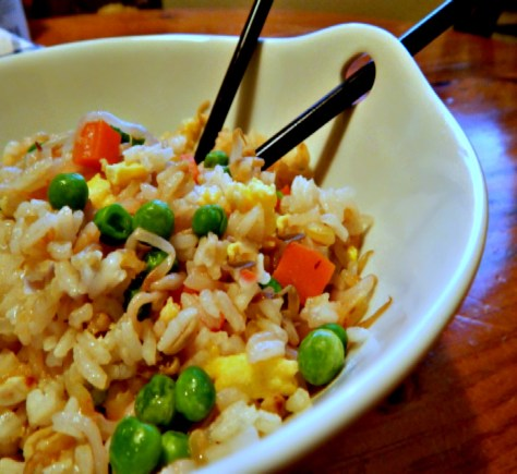 Classic Fried Rice Vegetarian