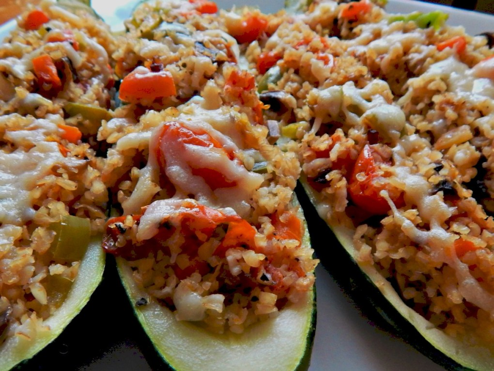 Stuffed Vegetables with Bulgar
