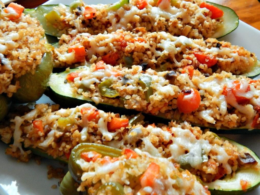 Stuffed Vegetables with Bulgar