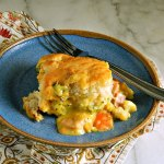 Easy Ham, Chicken or Turkey Casserole