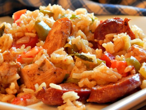 Jambalaya - This one is Sausage and Chicken made with a Roux