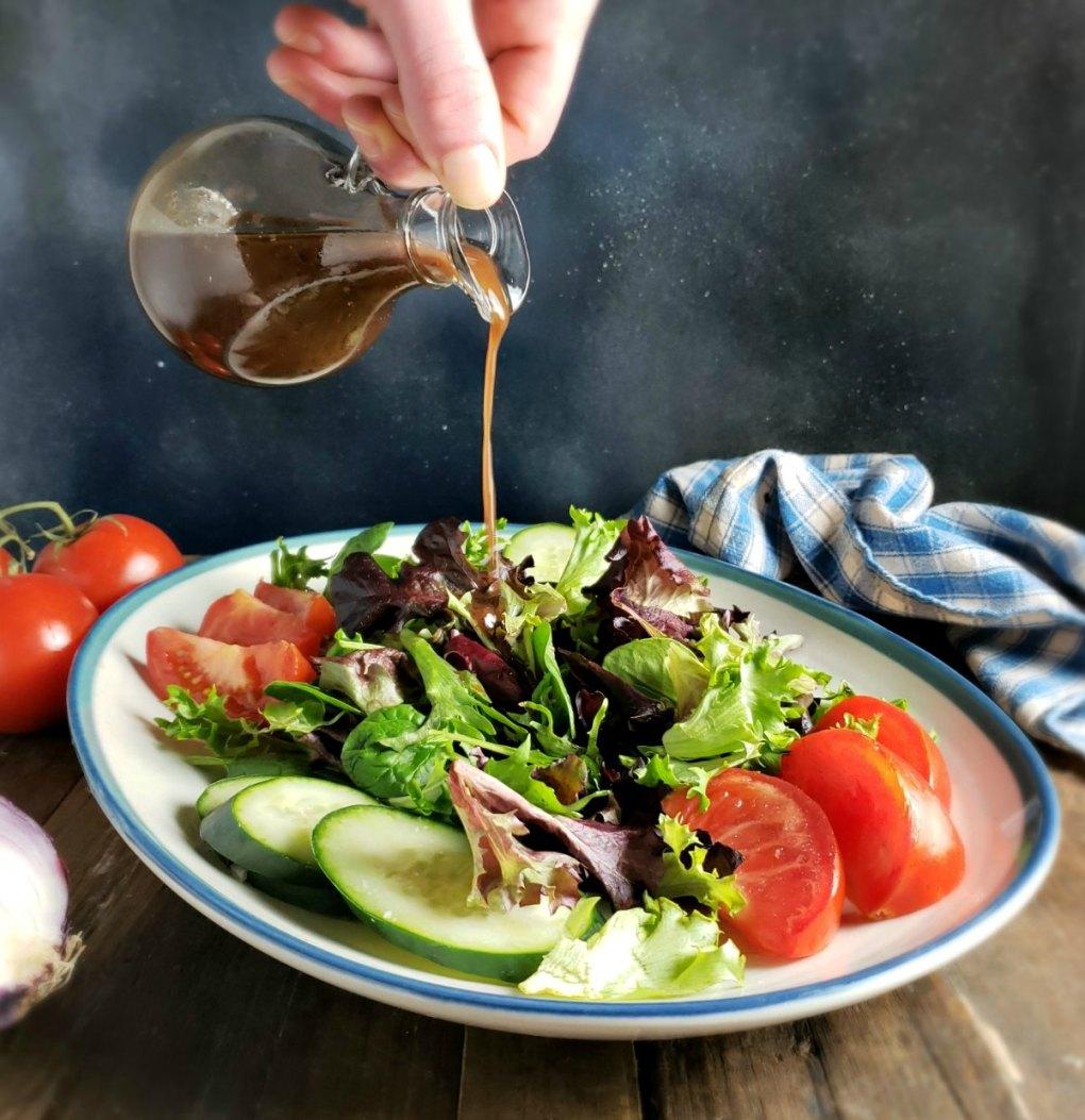 The Most Amazing Balsamic Vinaigrette