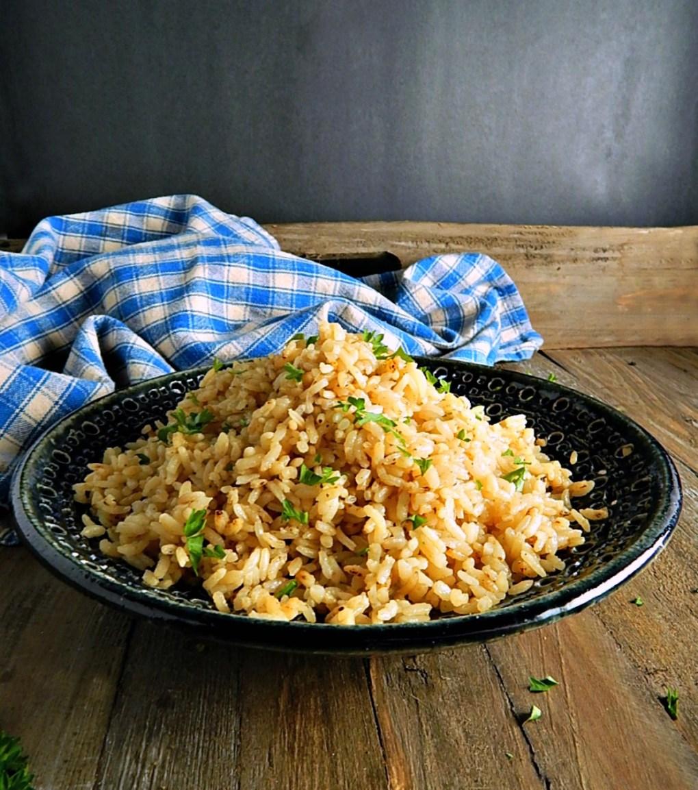 Turkish Rice Pilaf