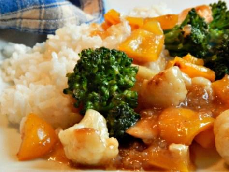 Chicken Stir Fry based on the Classic Moo Goo Gai Pan or Moo Gah gai pan