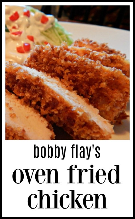 Bobby Flay's Oven Fried Chicken - So good! One of my son's favorites.