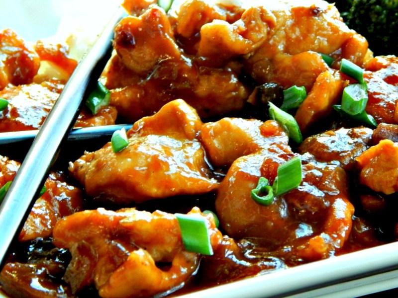 Bourbon Chicken - 20 minute stove top version