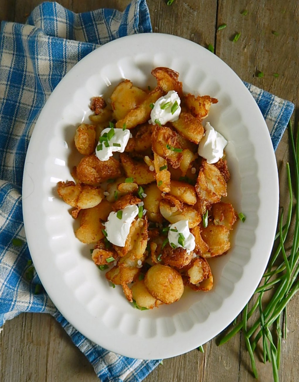 Baled Potato Hash Browns from Leftover Potatoes