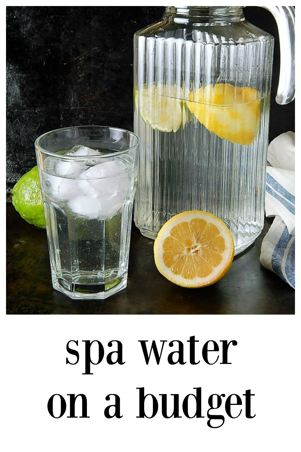 Put your fruit scraps and peelings to good use! Use them to infuse water for Spa Water on a Budget. It's surprising how much flavor is there. #SpaWater #SpaWaterOnABudget #InfusedWater #EasyInfusedWater #NoFoodWaste #FlavoredWaterEasy #FruitFlavoredWater
