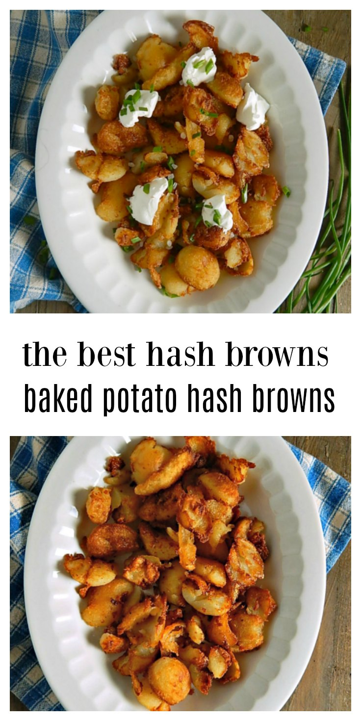 Baked Potato Hash Browns