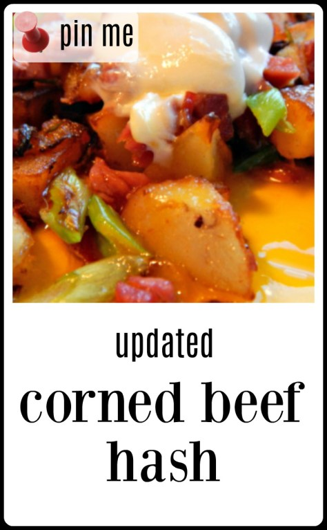 Corned Beef Hash from you leftover Corned Beef Dinner. The crispiest crunchiest potatoes ever!