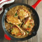 Cooks Illustrated Smothered Pork Chops in Onion Gravy
