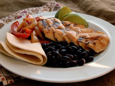 Grilled Southwestern Lime Chicken Breasts