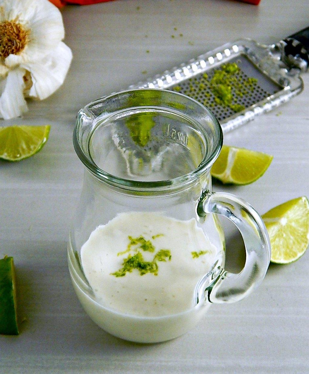 Creamy Lime Vinaigrette