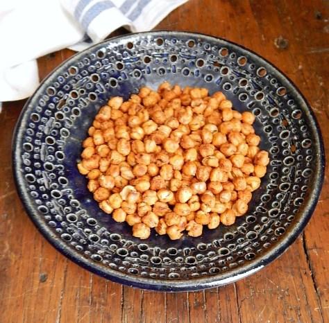 Oven Roasted Chickpeas Crispy