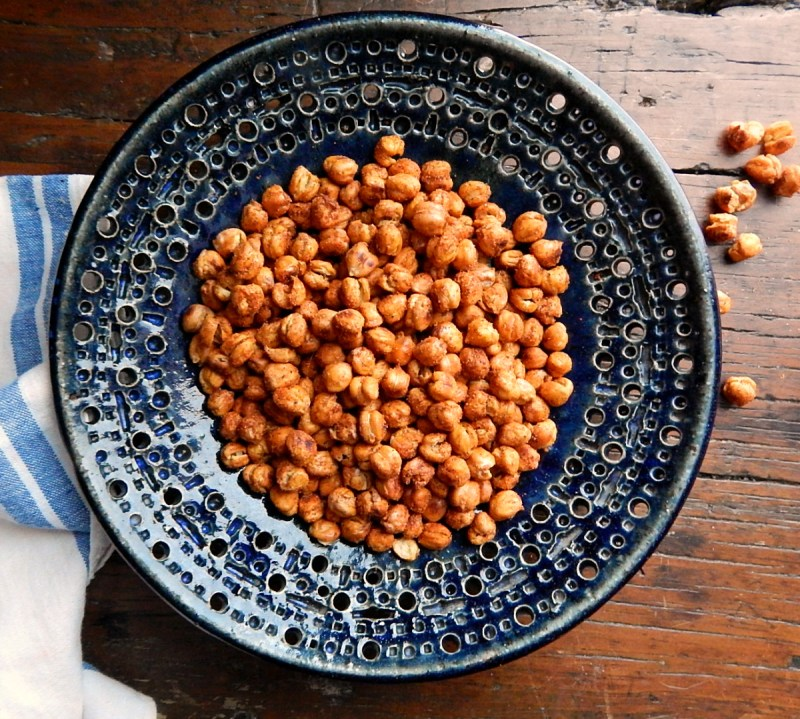 Oven Roasted Chickpeas Crispy Crunchy