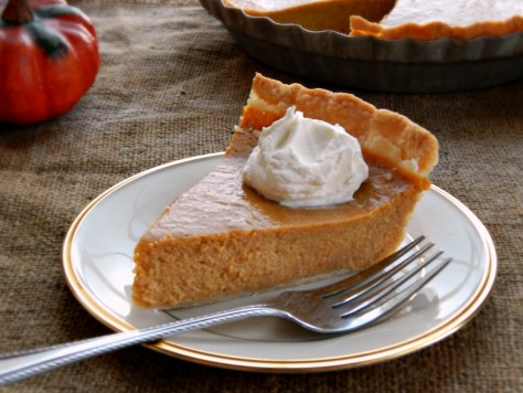 Pam Anderson's Perfect Pumpkin Pie