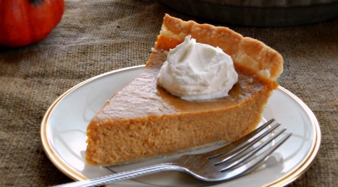 Pam Anderson's Perfect Pumpkin Pie