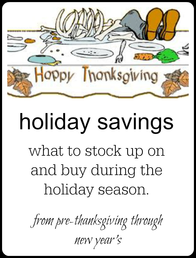 Beat the grocer at their own game, Leverage Thanksgiving, Christmas & New Year Savings to stock up & use throughout the year. The savings are incredible! #SaveMoneyOnGrocers #SaveMoneyOnChristmasGroceries #SaveMoneyOnHolidayGroceries #SaveMoneyOnThanksgivngGroceries