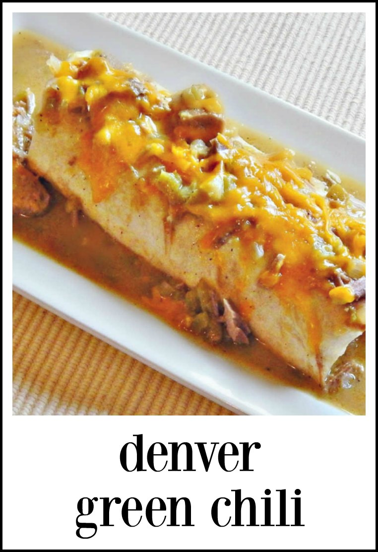 Denver Green Chili - Crave-worthy flavor that will tickle your tongue, then wrap around and settle a bit toward the back of the throat. #GreenChili #DenverGreenChili
