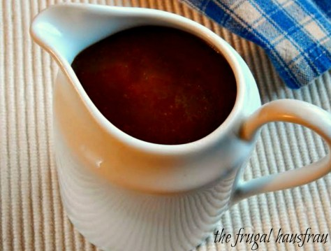 Apricot Caramel Sauce - made for Austrian Crepes but so good over anything vanilla!