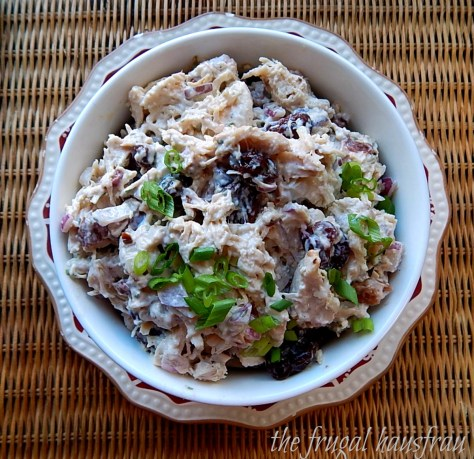 chicken salad dried cherries