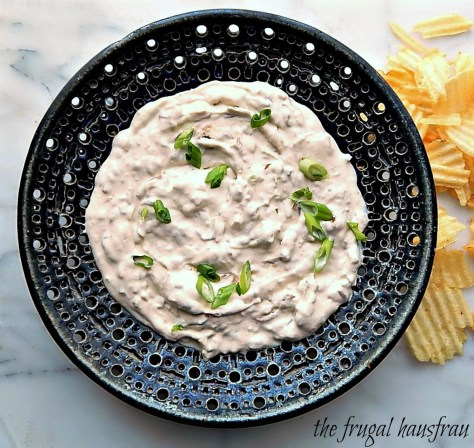 Skinny Caramelized Onion Dip