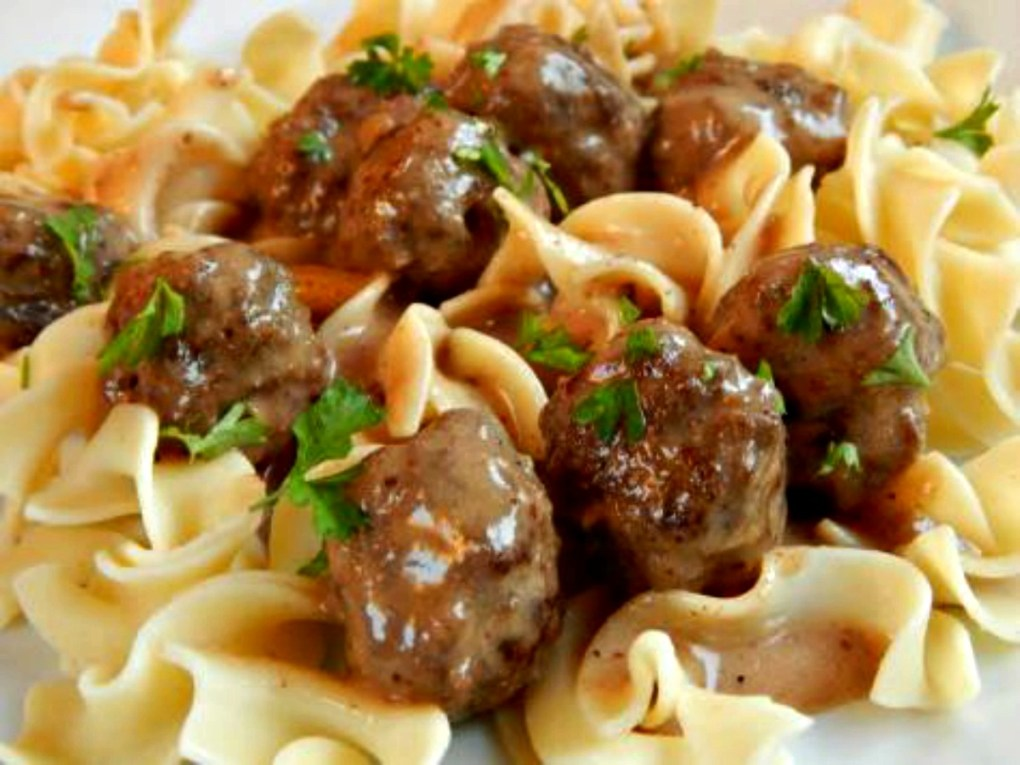 Tyler Florence Swedish Meatballs