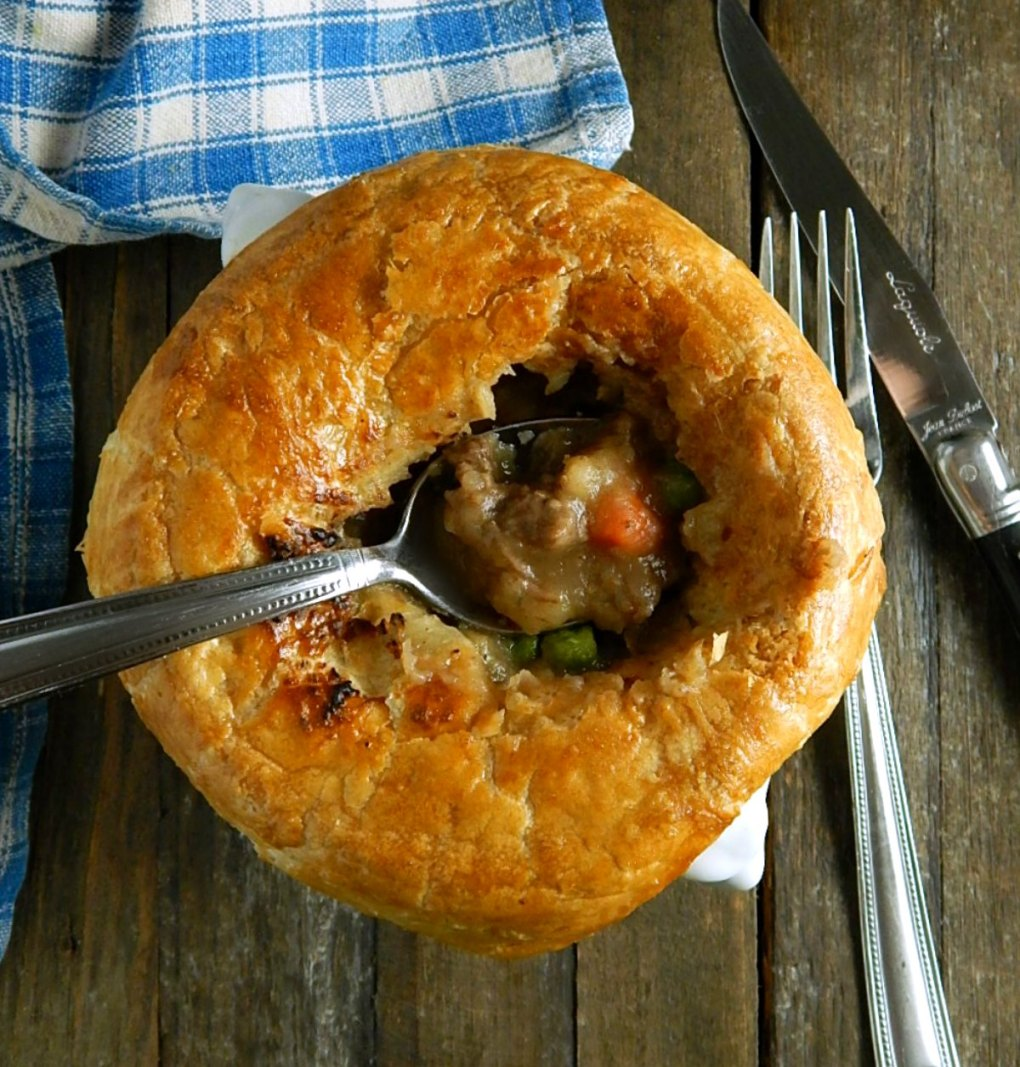 Beef & Guinness Pies