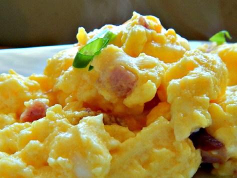 """Baked """"Hotel"""" Eggs"""