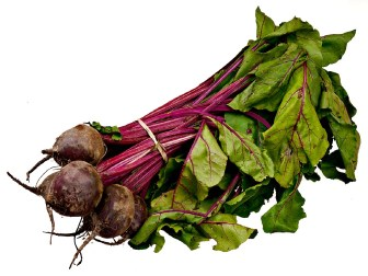 use tops of beets, radish, carrot, etc. in salads, smoothies or sautes