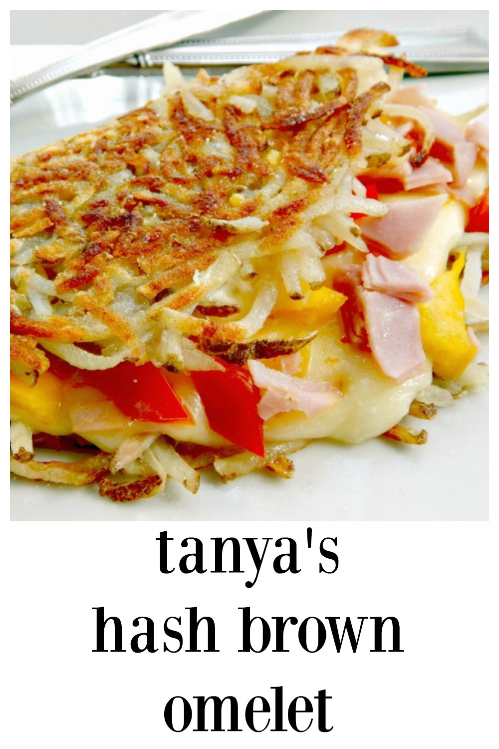 Tanya\'s Famous Hashbrown Omelete