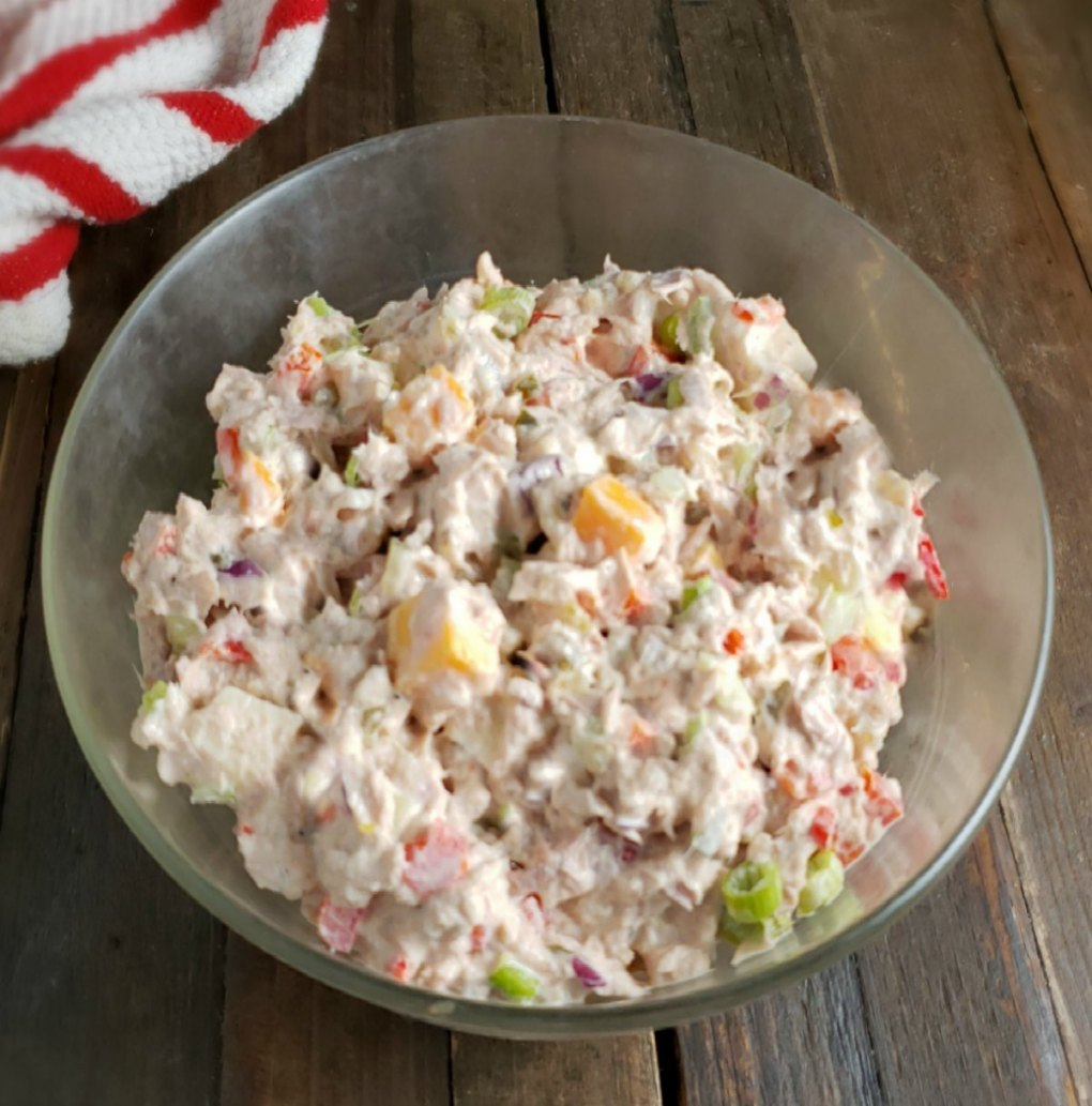 Healthier Tuna Salad