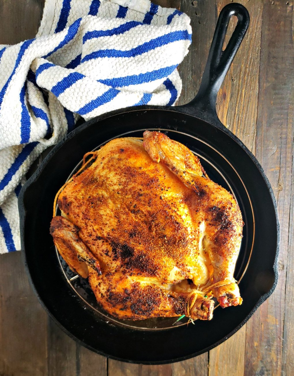 Rotisserie-Style Chicken (No Rotisserie Needed)