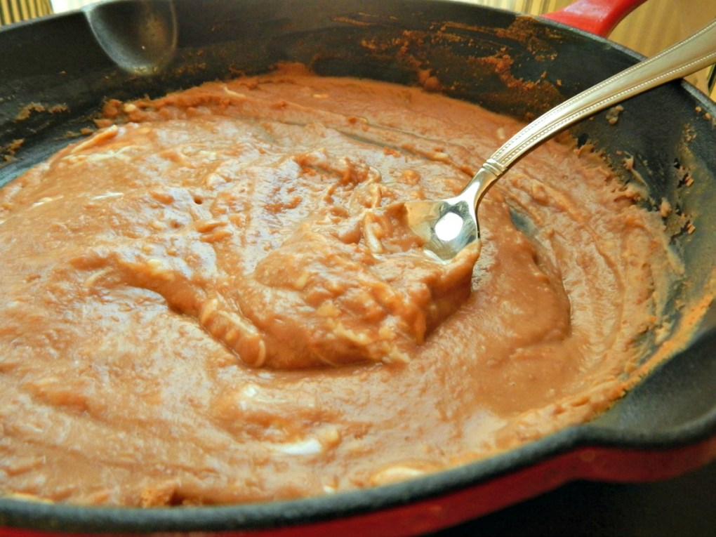 How to doctor up Canned Refried Beans