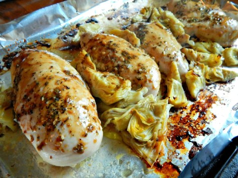 Chicken with Lemon & Artichokes