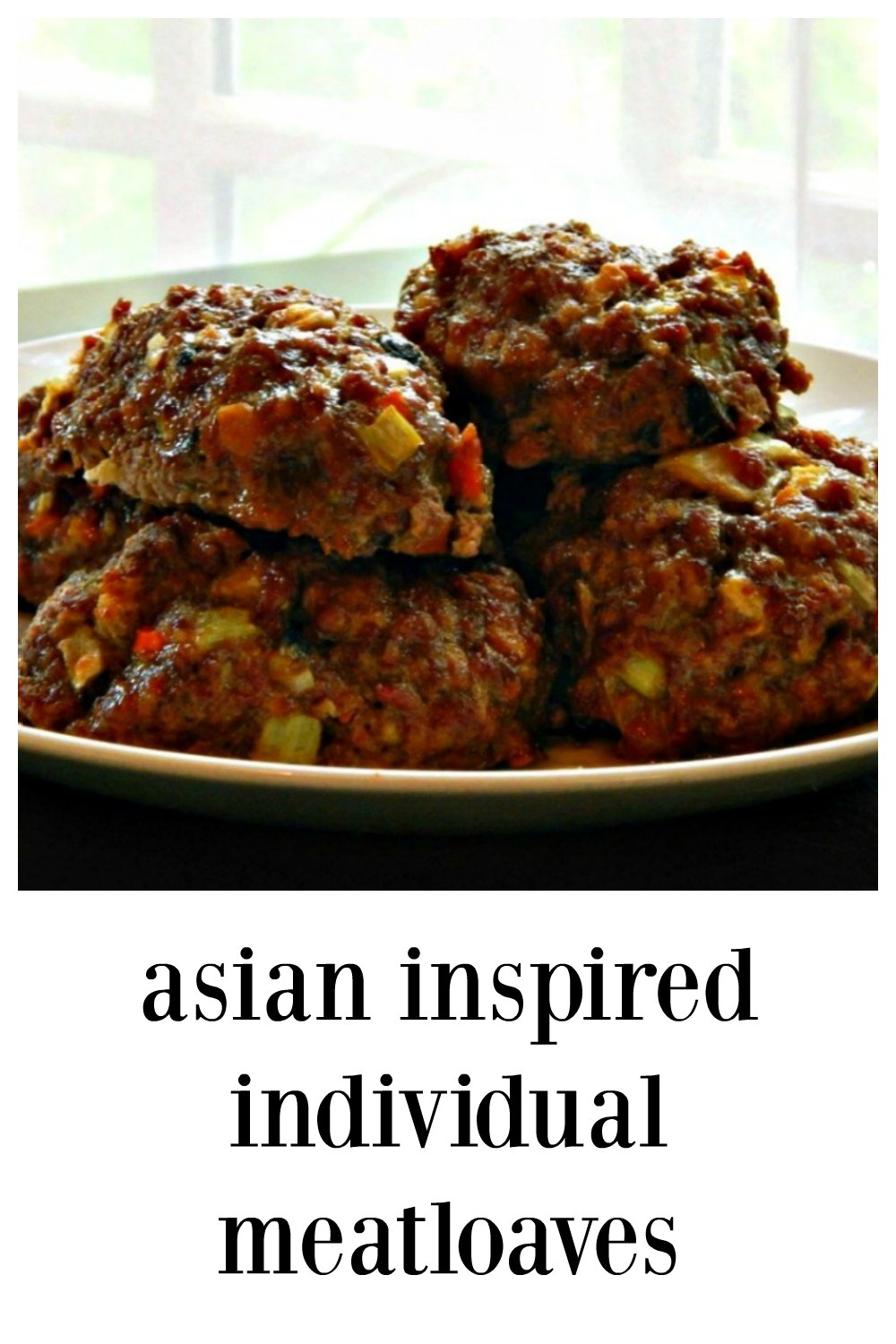 Asian Inspired Individual Meatloaves