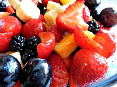 Citrus Vanilla Fruit Salad