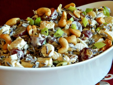 Wild Rice Chicken Salad