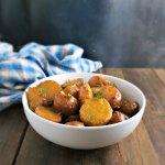 Baby Potatoes in Parsley Broth