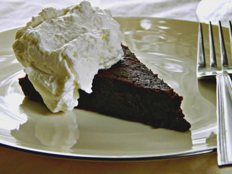 flourless chocolate cake gourmet november 1997