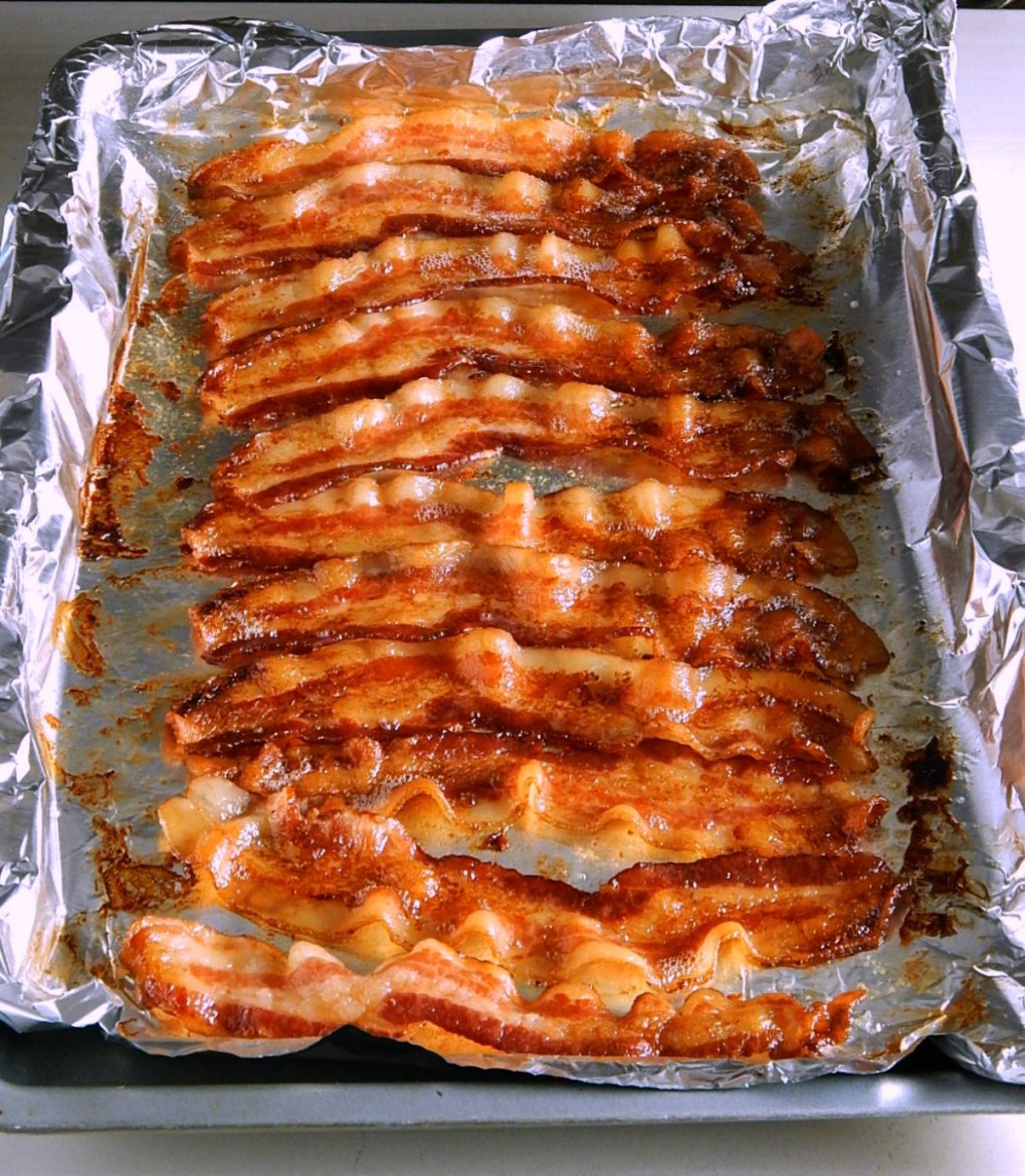 Buffet Style Oven Baked Bacon Hotel Bacon