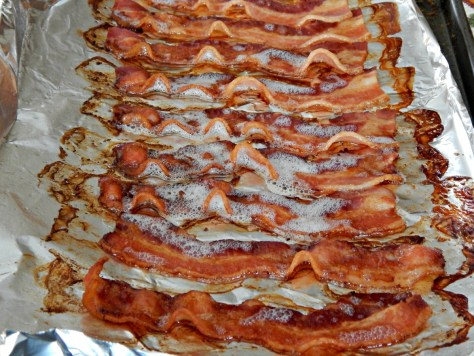 Buffet Style Bacon - I make my bacon like this in the oven - so easy!