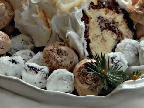Snowy chocolate truffles - a Martha Stewart Recipe - easy!!
