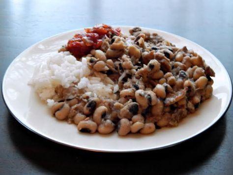 Traditional Black Eyed Peas