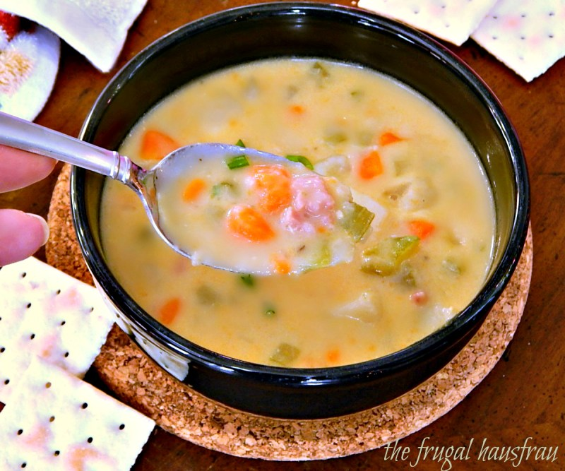 My Sister's Ham & Potato Soup Chowder
