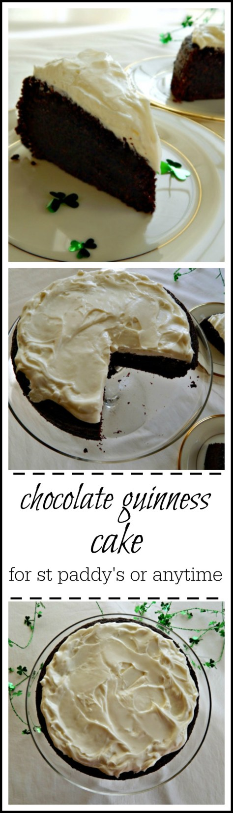 Easy Guinness Chocolate Cake Adapted From Nigella Lawson
