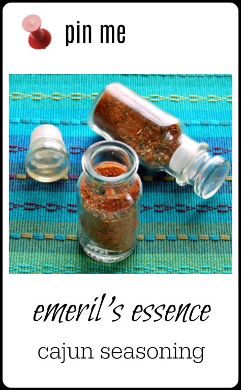 Emeril's pretty spot on with this Cajun Seasoning - but the best thing about mixing up your own? You can tinker if you want!!