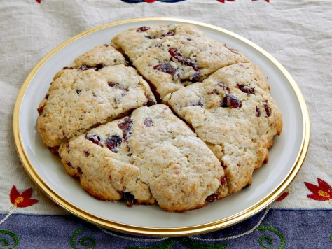 Dried Cranberry & Tea Infused Scones