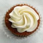 applesauce cupcakes with Ermine Buttercream